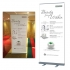 Crystal Tomato Pull Up Banner